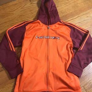 Virginia tech Hokies adidas 14-16 hoodie AA14